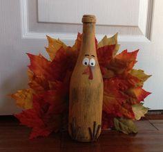 Turkey wine bottle
