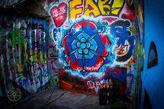 Berlin, Germany. Wellington New Zealand, Haunted Attractions, Most Haunted, Skate Park, Berlin Germany, Graffiti Art, Tattoo Studio, Walls, Painting