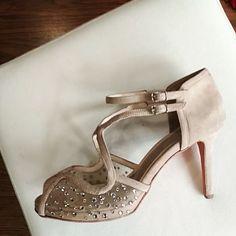 """27 """"Μου αρέσει!"""", 1 σχόλια - Divina Shoes (@divina_shoes_handmade) στο Instagram: """"Divina shoes with Swarovski elements.... priceless combination!  #dreamyshoes #luxuryshoes…"""" Stuart Weitzman, Swarovski, Sandals, Heels, Instagram, Fashion, Heel, Moda, Shoes Sandals"""