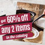 November Host Special: 60% off ANY 2 items in the catalog! It is a great deal!