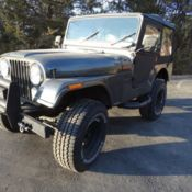 1977 Jeep Cj Brand New Custom Built With Chevy V8 And