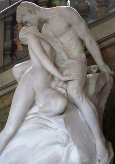 Autor:Rodin Obra: El beso Obra hiperrealista realizada en mármol. Tiene una textura la cual interpreta el artista sobre la obra totalmente de acuerdo con las características de un ser humano. La obra se encuentra en Paris