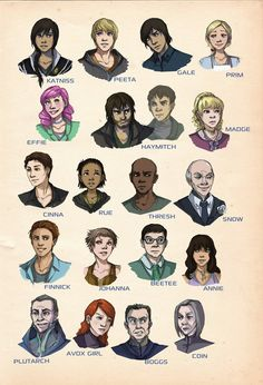 THIS IS HOW I ALWAYS PICTURED IT WHEN I READ THE BOOKS!!! Except for Plutarch I thought he looked different