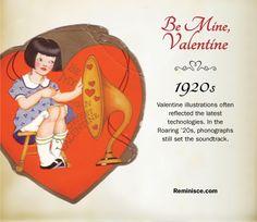 Vintage valentines through the decades: 1920s