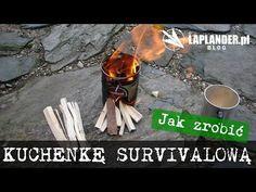 Kuchenka survivalowa z puszki. | Laplander.pl | Survival | Bushcraft