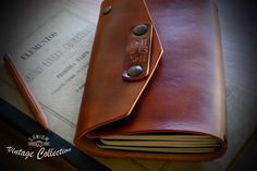 """""""SONIUM LEATHER"""" Vintage Collection. Special Notebook Cover"""