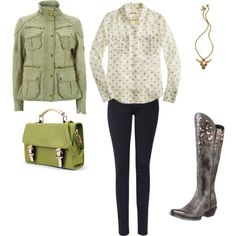 """One pair of boots...3 ways to wear them"" by westernglamour on Polyvore"