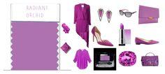 Radiant Orchia - Lila radiante, color de moda 2014. Color asociado con riqueza, lujo y prestigio, color que nos quita la  ansiedad. Recomendado para ojos marron y miel en ocasiones especiales