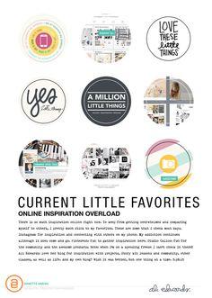 Ali Edwards | Blog: AE Digital Creative Team | Little Things