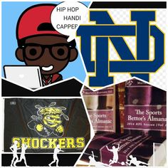 "3/26/15 NCAAB #MarchMadness : #WichitaSt vs #NotreDame #fightinIrish (Take: Notre Dame +1,Over 137) (THIS IS NOT A SPECIAL PICK ) ""The Sports Bettors Almanac"" SPORTS BETTING ADVICE  On  95% of regular season games ATS including Over/Under   1.) ""The Sports Bettors Almanac"" available at www.Amazon.com  2.) Check for updates   My Sports Betting System Is an Analytical Based Formula   ""The Ratio of Luck""  R-P+H ±Y(2)÷PF(1.618)×U(3.14) = Ratio Of Luck  Marlawn Heavenly VII ( SportyNerd@ymail.com…"