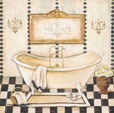 Sepia Bath I (Elle Summers)