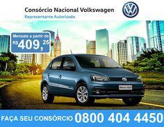 Você está esperando o que para conquistar o seu Novo Gol? Aproveite essa excelente oportunidade do Consórcio Nacional Volkswagen!