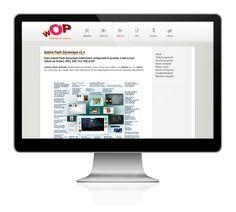 Site Internet visant à montrer les services liés à l'Agence Wop. Application en ligne de pilotage, gestion de projets. Galerie photo et vidéo.  Site internet en vidéo.
