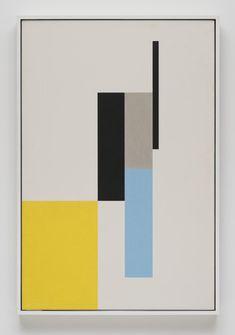 Abstract expressionist John McLaughlin - Pictures - CBS News Geometric Artwork, Geometric Painting, Abstract Oil, Hard Edge Painting, Modern Art Paintings, Mid Century Art, Canvas Art, Art Prints, Decoration