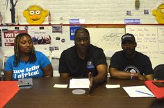 The Philadelphia-based grassroots campaign Black Men for Bernie said they will continue their work educating Black men on the social issues affecting their communities, even if Bernie Sanders does not gain the Democratic nomination, at a press conference on June 24.