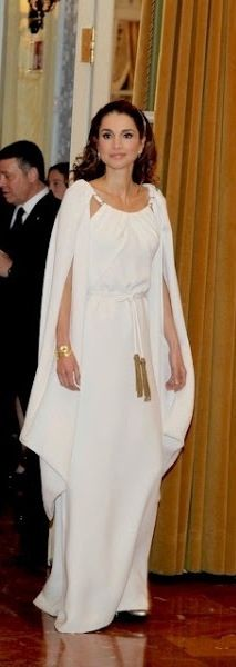Queen Rania in Stephane Rolland,