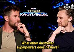 """19 Times The """"Thor: Ragnarok"""" Cast Proved They're Actually Hilarious IRL"""
