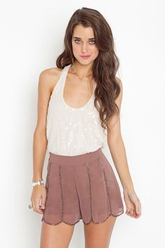 sequin top and shorts love them both!
