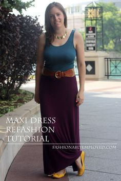 Picture of Refashioned Maxi Dress