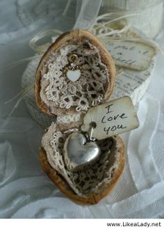 Walnut shell gift from a fairy