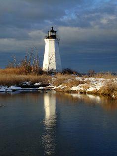 Fayerweather Island Lighthouse -Black Rock Harbor, CT, US
