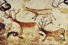 Peintures rupestres - Grotte de Lascaux, Dordogne, France