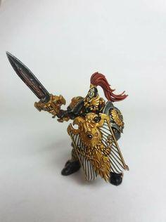 Legio Custodes, Golden Army, Dark Eldar, Imperial Fist, Solar Watch, Space Wolves, Warhammer 40k Miniatures, Warhammer 40000, Love Painting
