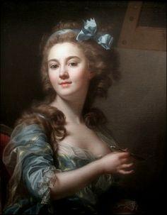 Marie Gabrielle Capet  - self-portrait