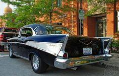 1957 Chevy Bel Air 1957 Chevy Bel Air, Chevrolet Bel Air, Vintage Cars, Antique Cars, Classic Cars Usa, Chevy Muscle Cars, Old School Cars, Classy Cars, Fancy Cars