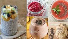 Non sai come mangiare i semi di chia? Ecco tante idee semplici e sfiziose per assumerli in yogurt, frullati, pane, biscotti, zuppe e burger!