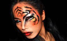 ''TIGER'' Halloween makeup look https://www.makeupbee.com/look.php?look_id=92318