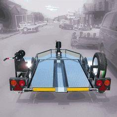 motorbike trailer plans - Google Search
