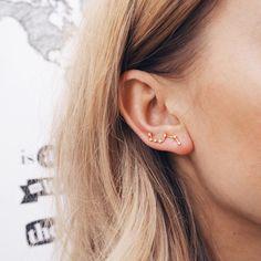 A galaxy of earrings. Love.
