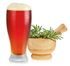 Brewing Beer With Rosemary Herbs
