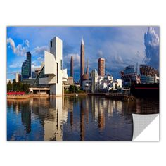 ArtApeelz 'Cleveland 20' by Cody York Photographic Print on Wrapped Canvas