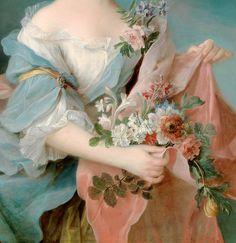 vintagegal:  François-Hubert Drouais (1727 –1775)-Portrait of an Elegant Lady