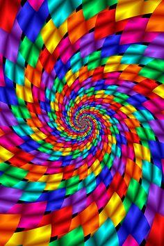Multicolor Psychedelic