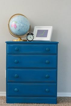 Find This Pin And More On Projects For The Future Blue Dresser