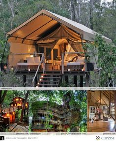 Id like a tree house just for a little getaway spot...