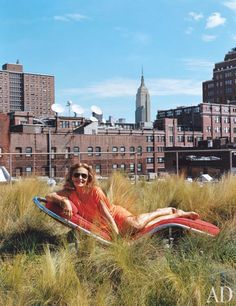 Diane von Furstenberg's Fashionable Manhattan Penthouse Photos | Architectural Digest