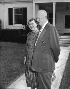 President Eisenhower and his wife, Mamie, spent her 63rd birthday at Augusta National Golf Club in November 1959.