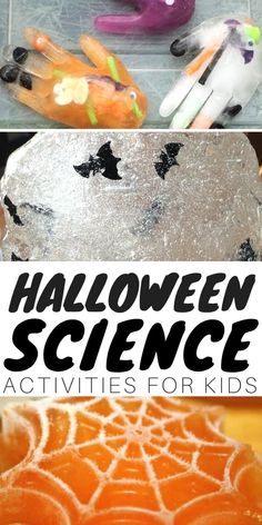 Nothing goes together better than Halloween science ideas and kids! I can't tell you how much I love the fun activities the Halloween season brings around here. We particularly love Halloween science! Join us for a Top 10 Halloween blog hop and stick around as we count down with 31 Days of Halloween STEM { NEW this year}. You are sure to find tons of ideas to make your Halloween amazing! AWESOME HALLOWEEN SCIENCE IDEAS FOR KIDS Halloween Science, Halloween Arts And Crafts, Halloween Activities For Kids, Science Activities For Kids, Science Experiments Kids, Science Ideas, Holiday Activities, Halloween Themes, Halloween Fun