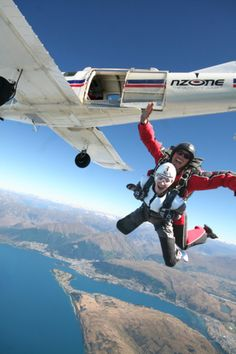 Skydiving, i will do it if i get the chance
