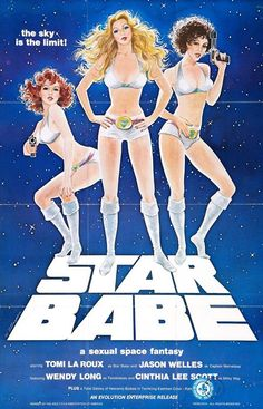 Star Babe. One sheet poster.
