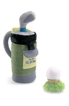 Colton's 1st golf bag!
