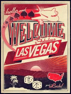 Hello, and welcome to Las Vegas!!