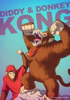 Donkey Kong BADASS by Tohad on deviantART