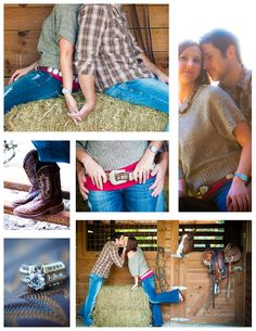 Western engagement shoot, cowboy boots, country engagement, stable, jason webster photography