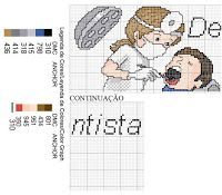 Ângela Bordados: dente Stitches Medical, Cross Stitch Embroidery, Cross Stitch Patterns, Cross Stitch Pictures, Pixel Art, Needlepoint, Needlework, Projects To Try, Kawaii
