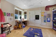 Kids need to have their own private work space too! This one is great because it's bright, colorful, spacious, and has great views. A room like this will surely help them ace their homework and school projects. Yarrow Point, WA Coldwell Banker BAIN $3,498,000